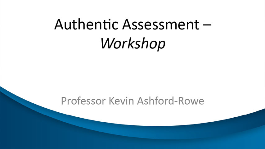 Online Assessment and Marking