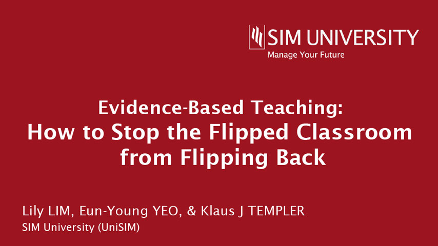 Flipped classroom: The student-centred model
