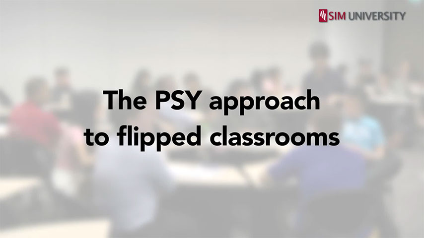 The PSY approach to flipped classrooms